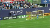 Frank Lampard scored twice for late win of NY. Second goal he scored in last minute of the match for 3-2 win