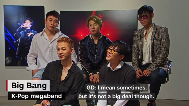 [ENGSUB] 빅뱅 BIGBANG on 10 years together -- CNN
