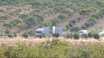 Gaziantep Karkamış Sınırına Beton Bloklar Götürülüyor