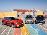 La nouvelle C3 face aux Peugeot 208 et Renault Clio