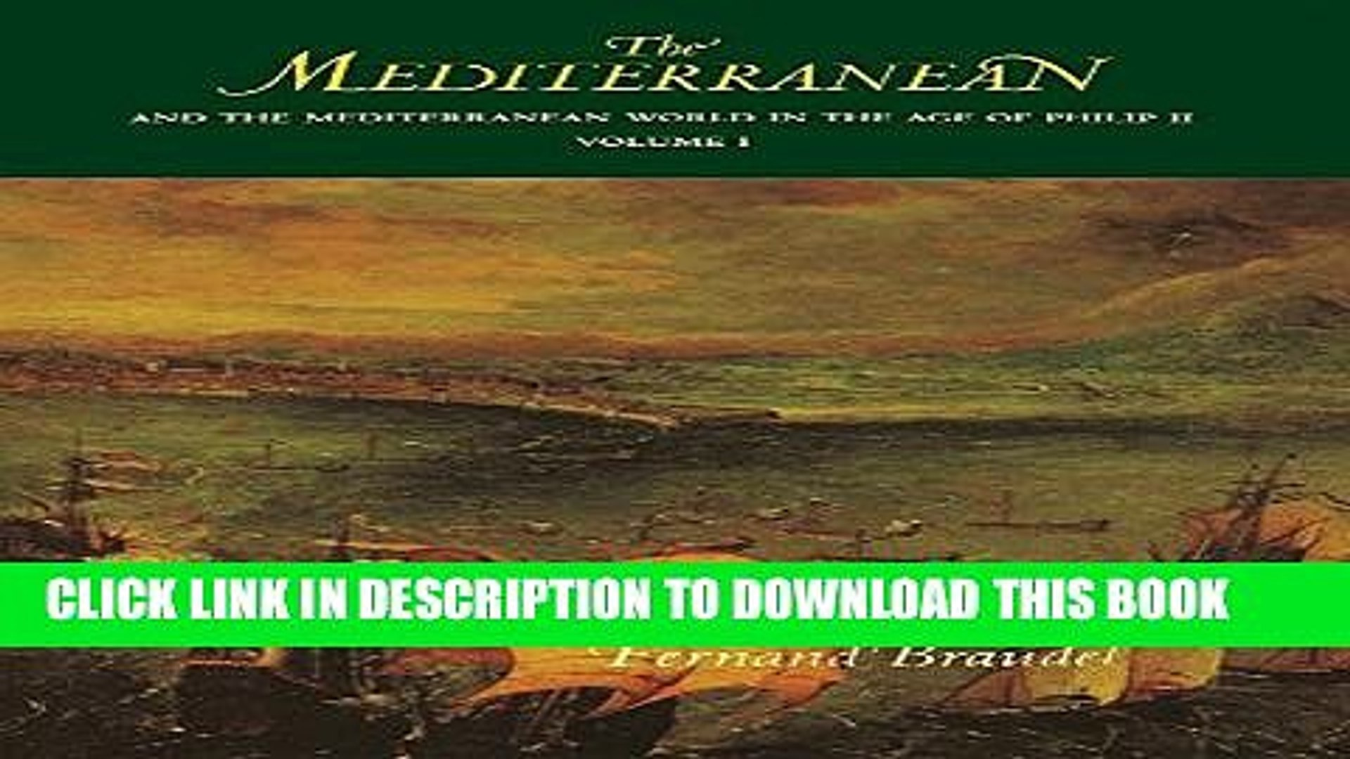 [PDF] The Mediterranean and the Mediterranean World in the Age of Philip II: Volume I Popular