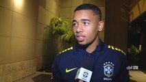 Gabriel Jesus fala sobre orgulho por estreia pela Seleção principal e quebra de tabu