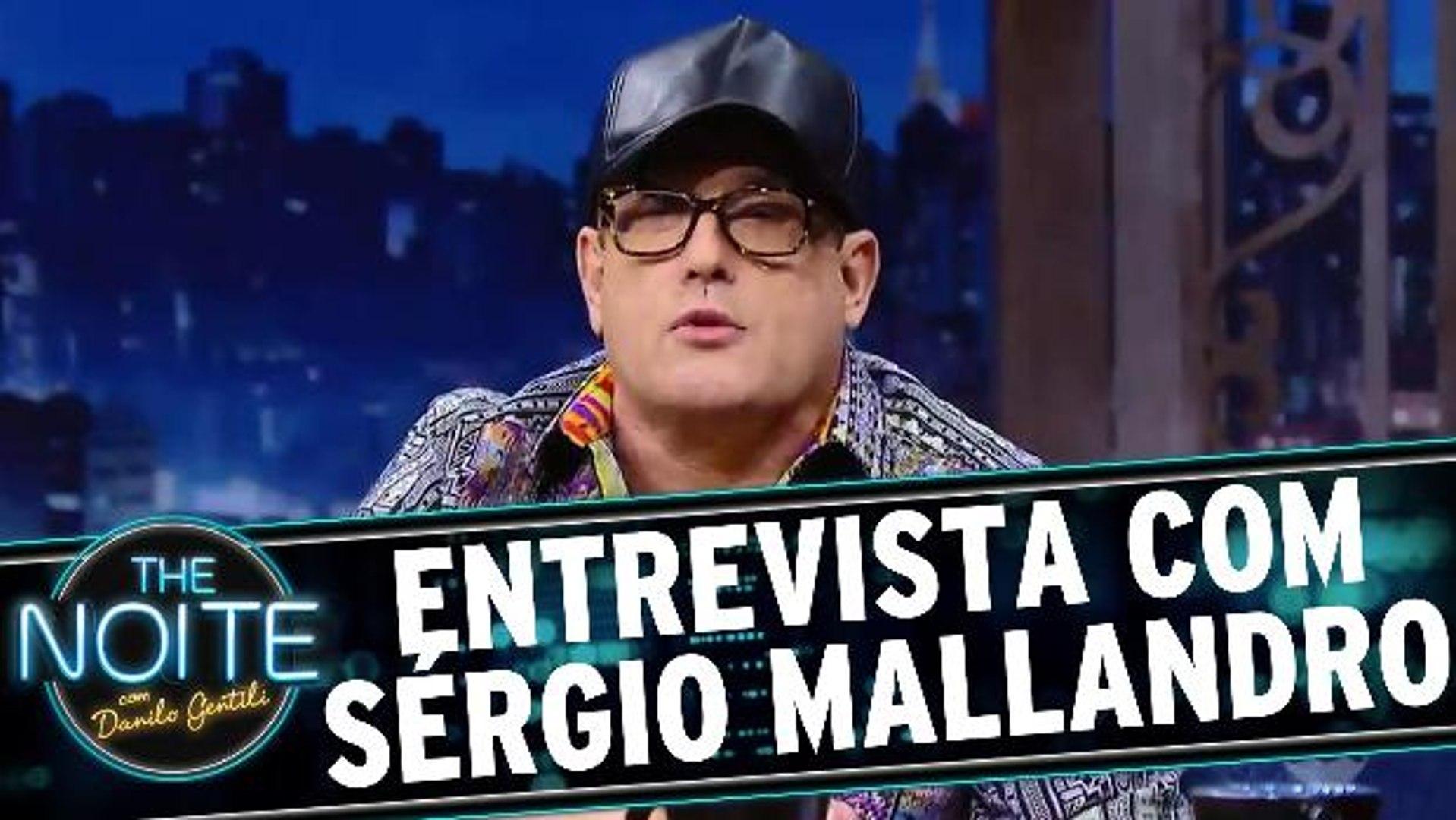 Entrevista com Sérgio Mallandro (ou Cavalcanti)