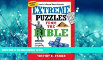 Popular Book Extreme Puzzles from the Bible: Including Crosswords, Word Search, Cryptograms, and
