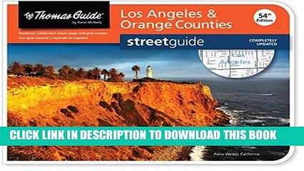 [PDF] Thomas Guide: Los Angeles   Orange Counties (Thomas Guide Streetguide Los Angeles and Orange