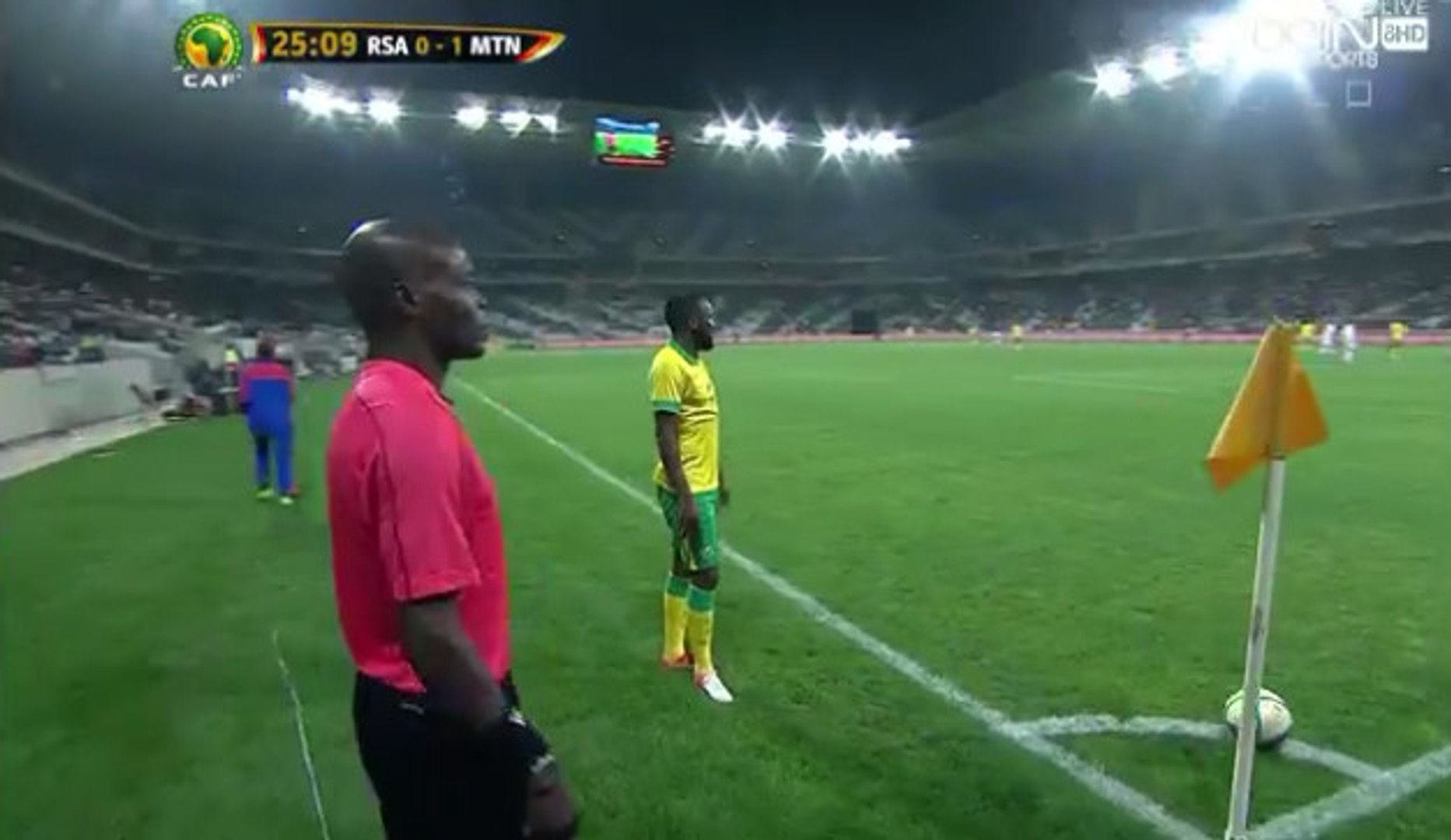 Hlompho Alpheus Kekana Goal - South Africa 1-1 Mauritania (02/09/2016)