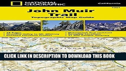 [PDF] John Muir Trail Topographic Map Guide (National Geographic Trails Illustrated Map) Full Online