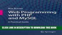 [PDF] Web Programming with PHP and MySQL: A Practical Guide Full Online