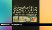 behold  The Bartender s Guide To Cocktails   Mixed Drinks