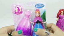 Videos de Peppa Pig español. Play Doh Frozen Anna and Elsa dolls!! Spiderman vs Frozen Elsa & Anna