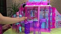Barbie Mariposa castillo reino hadas Barbie Butterfly Fairy Princess doll house juguetes barbie toys