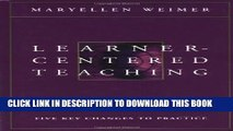 [PDF] Learner-Centered Teaching: Five Key Changes to Practice Full Online