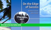 Big Deals  On the Edge of Success (Wadsworth College Success)  Best Seller Books Most Wanted