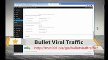 How to use Bullet Viral Traffic Installation Video