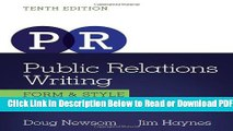 [Get] Public Relations Writing: Form   Style (Wadsworth Series in Mass Communication and
