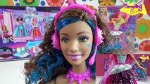Barbie Campamento Pop Muñeca Erika - juguetes Barbie en español toys - Barbie in Rock`n Royals Doll