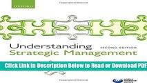 [Get] Understanding Strategic Management Popular New