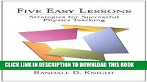 [PDF] Five Easy Lessons: Strategies for Successful Physics Teaching Popular Online