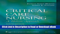 [Download] Critical Care Nursing: A Holistic Approach (Critical Care Nursing: A Holistic Approach