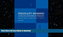 FAVORITE BOOK  Personality Disorders and the Five-Factor Model of Personality FULL ONLINE