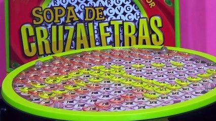 Sopa de Cruzaletras Juego de Mesa con Amanda y Alicia - juguetes en español