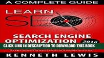 [PDF] SEO 2016: Search Engine Optimization: Learn Search Engine Optimization: A Complete Beginner