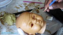 Speed Painting Reborn Baby Dolls! I Reborn Baby Doll Bailey! I All4Reborns.com Reborn Baby Dolls!