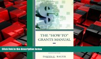 "Choose Book The ""How To"" Grants Manual: Successful Grantseeking Techniques for Obtaining Public"