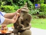 Gujarat Minister Shankar Chaudhary Promotes Eco-Friendly Ganesh Initiative by Tv9 Gujarati