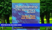 Must Have PDF  Skillstreaming in the Elementary School: Lesson Plans and Activities  Free Full
