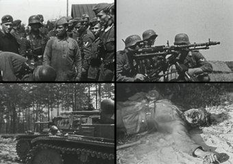 """Private video (in HD) of a German officer from the 3 Panzer Army Group """"Center"""", the very beginning, the summer of 1941. For voenhronika.ru site"""