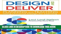 [PDF] Design and Deliver: Planning and Teaching Using Universal Design for Learning Popular Online
