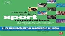 [PDF] Managing People in Sport Organizations (Sport Management Series) Popular Online