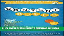 [New] Content Rules: How to Create Killer Blogs, Podcasts, Videos, Ebooks, Webinars (and More)