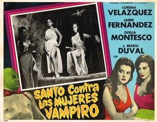 Santo Contra las Mujeres Vampiros (1962) Mexico Parte 1