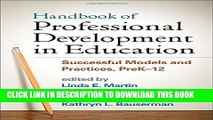 [PDF] Handbook of Professional Development in Education: Successful Models and Practices, PreK-12