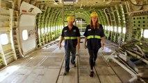 Un Boeing 747 Jumbo Jet de 50 tonnes transformé en boîte de nuit au Burning Man 2016