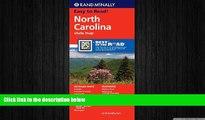 FREE DOWNLOAD  Rand McNally Folded Map: North Carolina (Rand McNally State Maps)  DOWNLOAD ONLINE