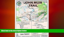 EBOOK ONLINE  John Muir Trail Map-Pack: Shaded Relief Topo Maps (Tom Harrison Maps)  BOOK ONLINE