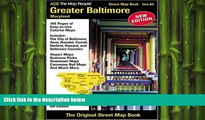 EBOOK ONLINE  ADC The Map People Greater Baltimore, Maryland: Street Map Book READ ONLINE