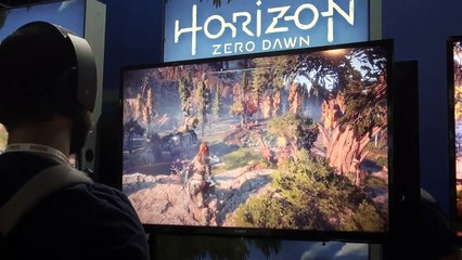Horizon Zero Dawn (PS4) - Gameplay - Demo Brasil Game Show 2016 de Une vidéo de gameplay de 10 minutes pour Horizon Zero Dawn