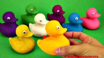 Play Doh Surprise Toys Ducks Spiderman Minecraft Minions Shopkins Cartoon Strawb