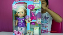 Baby Alive Interactive Doll Brushy Brushy Baby Doll Review & Play Time | B2cutecupcakes