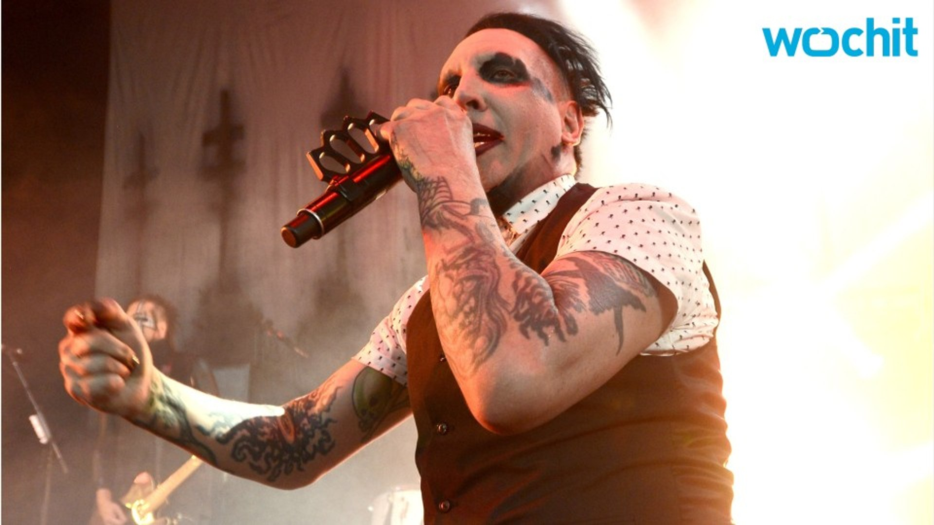 Marilyn Manson Says Johnny Depp Was Crucified