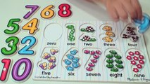 Learn to Count Numbers 0-9 | Counting Numbers For Babies, Toddlers | Preschool Learning