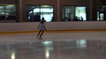 2016 Sask Skate Invitational & Sask Open Singles Competition- Novice Woman Short Program Grp 1