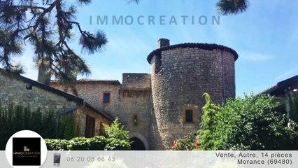 A vendre - Chateau - Morance (69480) - 14 pièces - 1 177m²