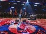 Christina Aguilera Star Spangled (Live NBA 2004)