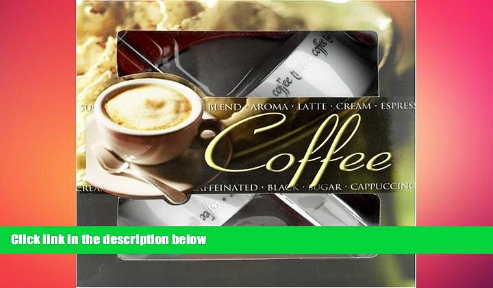 complete  Coffee [With Coffee Frother and White Espresso Cups and White Saucers] (Lifestyle Box