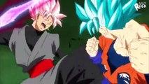 Dragon Ball Super 57- Goku Blue vs. black rose & God zamasu immortal vs. trunks